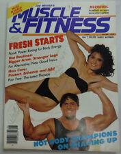 Muscle & Fitness Magazine Power Eating & Stonger Legs June 1986 NO ML 051415R