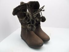Reneeze Women's Coco 1 Side ZIp Faux Fur Lined Boot Brown Size 6M