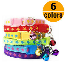 Wholesale 6PCS Lot XXS/XS Small Dog Cat Collar Pet Puppy Cute Star Necklace Gift