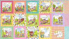 Loralie Precious Express Cotton Fabric Baby Nursery Loralie Harris  - Panel