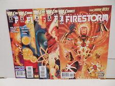 Fury Of Firestorm Nuclear Man DC New 52 Comic Books 1-5 Ethan Van Sciver Simone