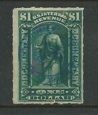 Usa: Fiscal stamp with interesting postmark. US517