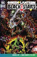 Green Lantern Blackstars #3 (of 3) (2020 Dc Comics) First Print Sharp Cover