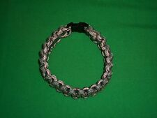 550 Paracord Survival Camping Hiking Emergency Gear Bracelet 10 Ft / Size Lg
