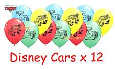Cars Lightning McQueen Latex Balloons x 12 Party Decoration