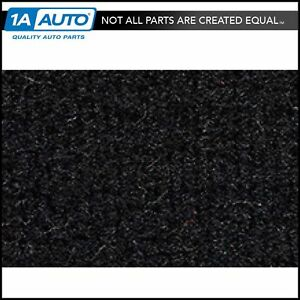 for 1984-94 Ford Tempo 2 Door Cutpile 801-Black Complete Carpet Molded