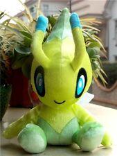 """NEW Tomy Pokemon 20th Anniversary Celebi Plush Soft Toy Gift  8"""""""