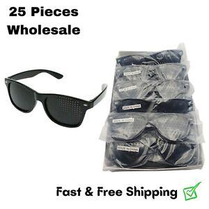 25x Wholesale Pinhole Glasses Vision Correction Eye Exercise Anti-Myopia