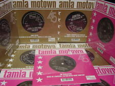 RARE MOTOWN TAMLA AUDIOPHILE 45 SINGLE 12 SERIES TEMPTS 4TOPS WONDER SMOKEY GAYE