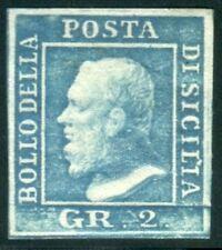 Francobolli italiani dell'antico stato di Sicilia