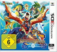 Monster Hunter Stories (New Nintendo 3DS, 2017) neu und ovp
