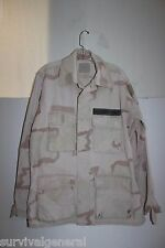 3 Color US Military Desert Camo BDU Shirt Coat Medium Regular USGI Uniform