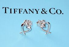 Tiffany & Co Paloma Picasso Loving Heart Sterling Silver Earrings