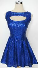 NWT WINDSOR $90 Royal Cocktail Dance Prom Party Dress 9