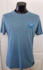 Volcom Skateboard Surfing Beach Logo Blue T Shirt Medium Vintage Rero Rare