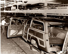 Ford Motor Co. Woody Wagon Assembly Line 1950 Kingsford MI Wood Panels Woody WOW
