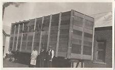 Photograph C M Jones aeroplane 1922 in box from Western Australia to Melbourne