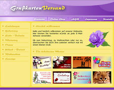 GRUSSKARTENVERSAND - PHP Webprojekt Script Software - Master Reseller Lizenz