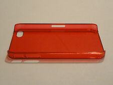 Red Ultra Thin 0.5mm Plastic Case for Apple iPhone 4 4S