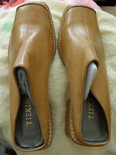 women leather   brown shoes  size  37.5  new