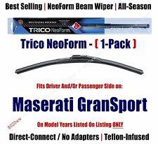 Super Premium NeoForm Wiper Blade Qty 1 fits 2005-2007 Maserati GranSport 16220