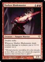 MARKOV BLADEMASTER Dark Ascension MTG Red Creature—Vampire Warrior RARE
