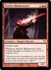 MARKOV BLADEMASTER Dark Ascension MTG Red Creature—Vampire Warrior RARE