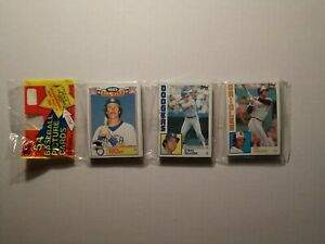1984 Topps Rack Pack- 54 cards - Robin Yount All Star showing NEW Sealed
