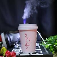 Car Portable Mini Coffee Cup USB Ultrasonic Air Purifier Aroma Diffuser Maker◥