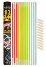 12 Glow Bracelets - In The Dark Rave Fun Birthday Loot/Party Bag