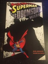 Superman:The Doomsday Wars#1 Incredible Condition 9.4(1998) Softcover, Jurgens!!
