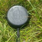 Beautiful Old Griswold #5 Skillet - Large Logo - Smooth & Seasoned! Sits Flat!