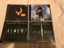 THE ALIEN QUADRILOGY SOUNDTRACK COLLECTION GOLDSMITH HORNER GOLDENTHAL FRIZZELL