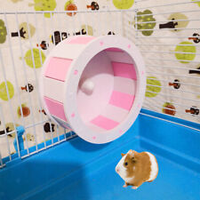 Hamster Silent Exercise Wheel Jogging Running Toy For Mouse Guinea Pig
