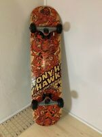 "TONY HAWK Skateboard Huck Jam Series 31"" Red Black Natural Wood"