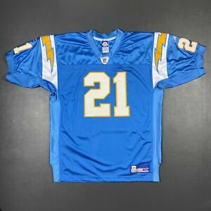 100% Authentic Ladainian Tomlinson Reebok Chargers Jersey Size 48 XL Mens