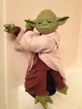 🔴 STAR WARS Legendary YODA Trainer Voice Activated Animatronic Spin Master