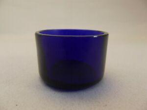 Cobalt Blue Glass Liner (GL77) - Replacement Salt Mustard Pot - Bristol