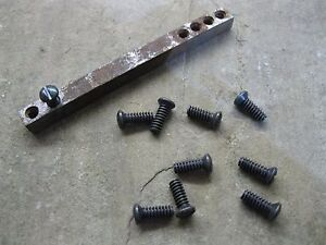 """10 Set / Grub Screws for Old Door Knob Spindles 3/16 x 1/2"""" Whitworth Imperial"""