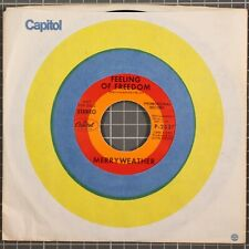 "Neil Merryweather Feeling of Freedom / Curiosity 7"" 45 RPM Promo NM"