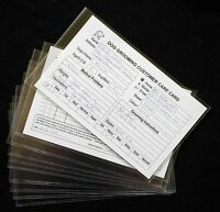 DOG GROOMING 10 PLASTIC RECORD CARD SLEEVES stationery by GROOMERGRAPHIX