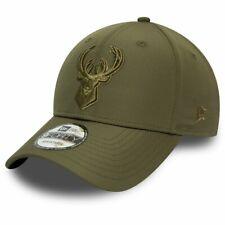 New Era 9Forty Adjustable Cap - NYLON Milwaukee Bucks
