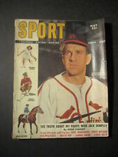 SPORT magazine - May 1949  ENOS SLAUGHTER Cover and article