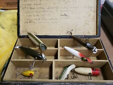 New listing Vintage Grandpas lure lot 7 total with box.