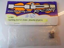 HPI RACING A165 SPRING 6x7x1.5mm (Noir) (2PCS)