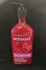 Bath & Body Works Sensual Aromatherapy Black Currant Vanilla Lotion