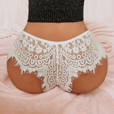 Women Sexy Lace G-string Boxer Briefs Panties Thongs Lingerie Underwear Knickers