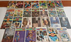 MIRACLEMAN #1-24 ECLIPSE FULL RUN LOT 15 Death Kid Miracleman HI GRADE Avg NM