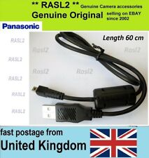 Genuine Panasonic LUMIX USB cable DMC-TZ27 SZ19 SZ7 TZ30 SZ5 DMC-3D1 LX7 FZ50