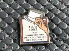 PINS PIN BADGE ARMEE MILITAIRE DOUANE 1992